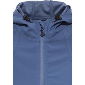 axant Alps softshell jas Dames blauw